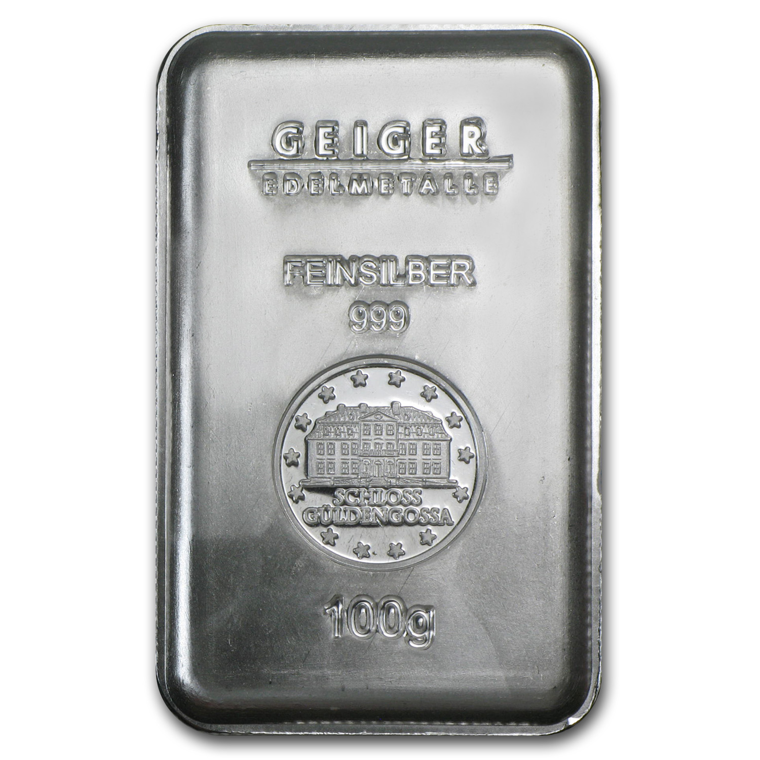 100 gram Silver Bar - Geiger (Security Line Series) (3/6)