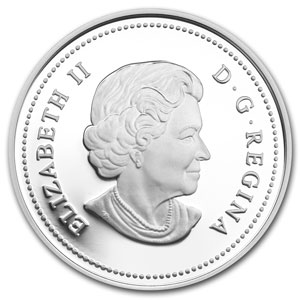 2013 Canada Silver $5 Tradition of Hunting Deer