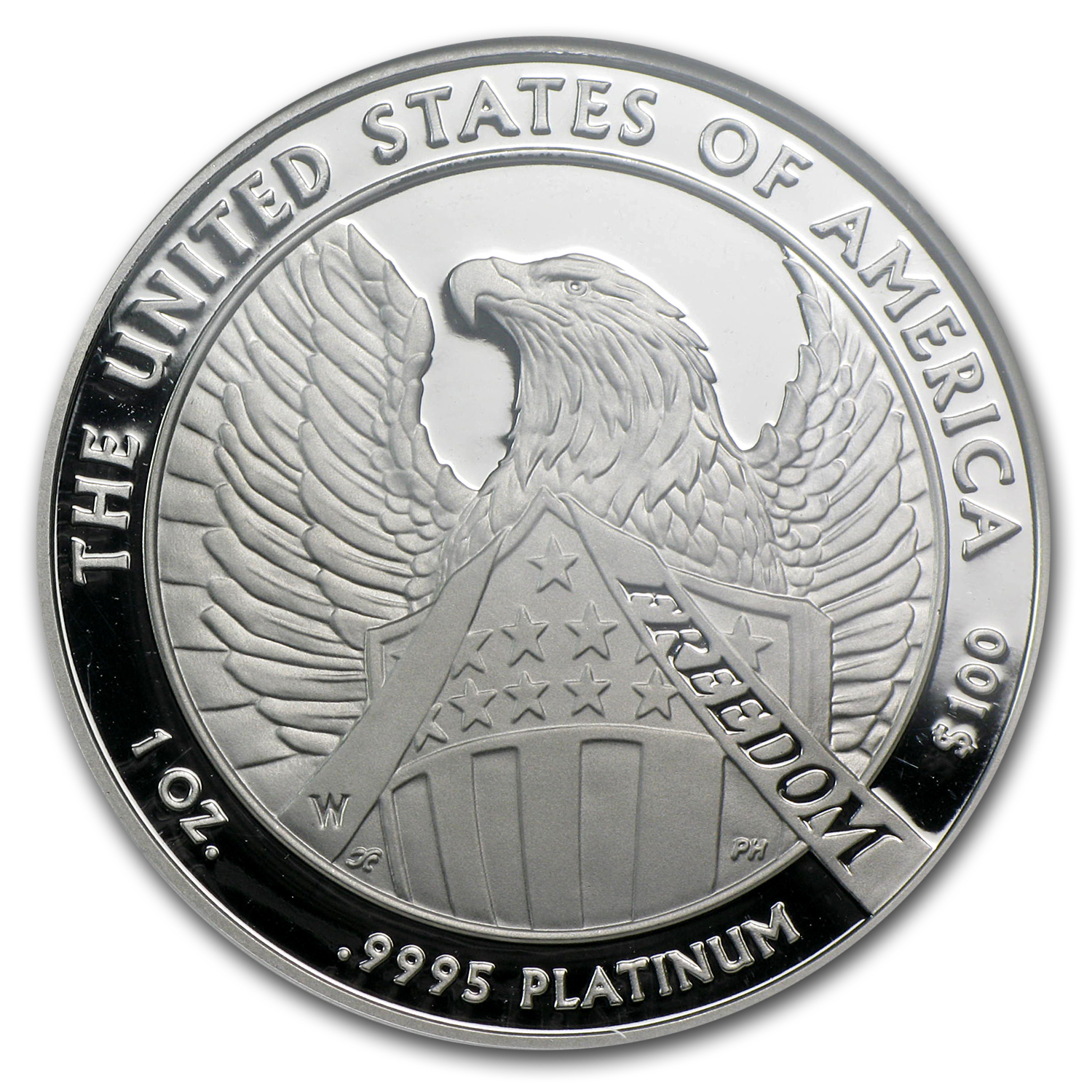 2007-W 4-Coin Proof Platinum American Eagle Set PF-70 NGC