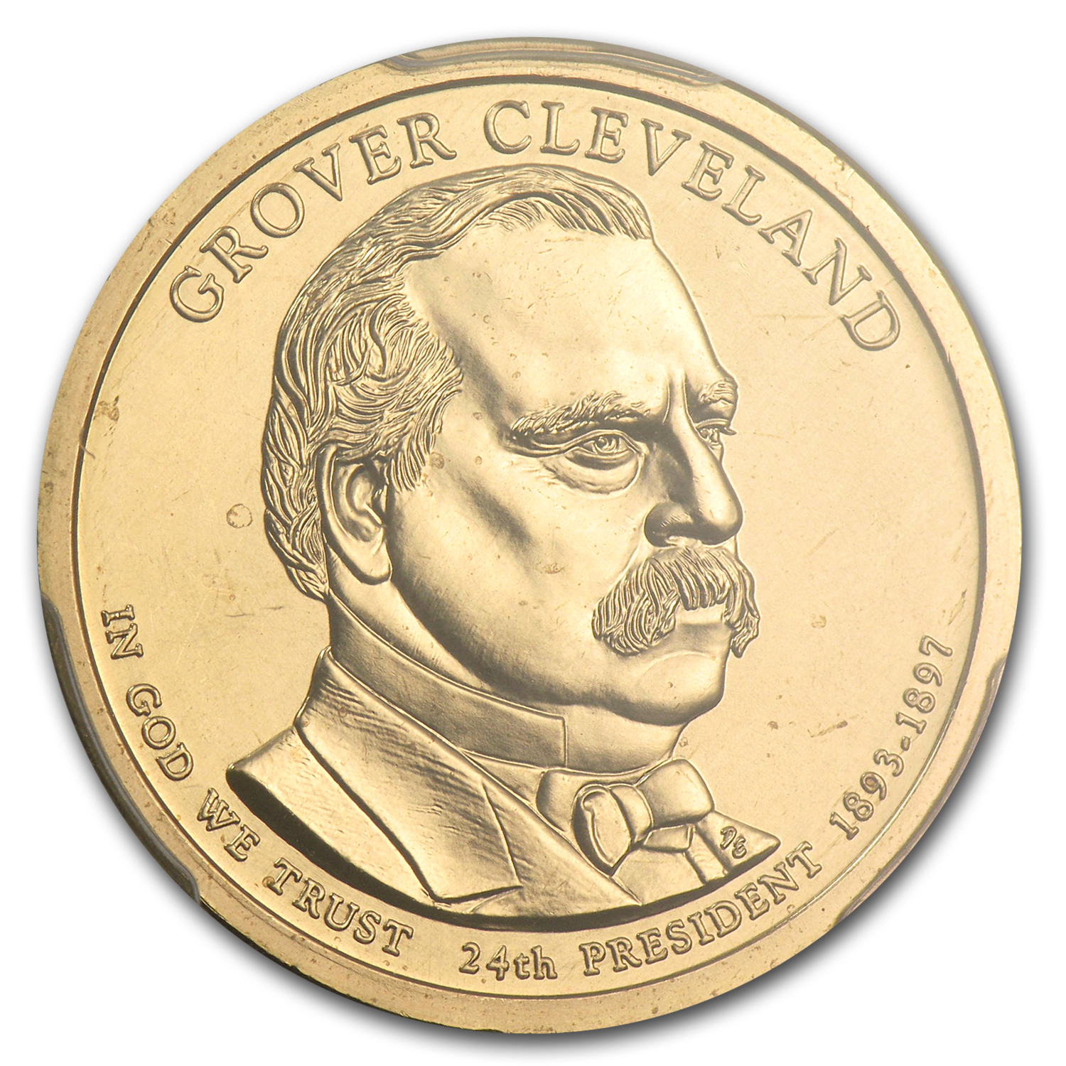 2012-P Grover Cleveland Position A Presidential Dollar MS-67 PCGS