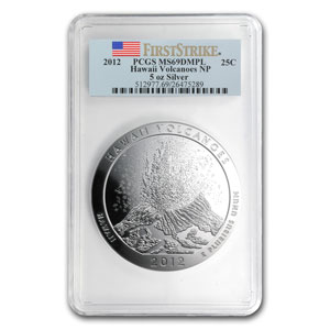 2010-2012 15-Coin 5 oz Silver ATB Set MS-69 DMPL PCGS (FS)