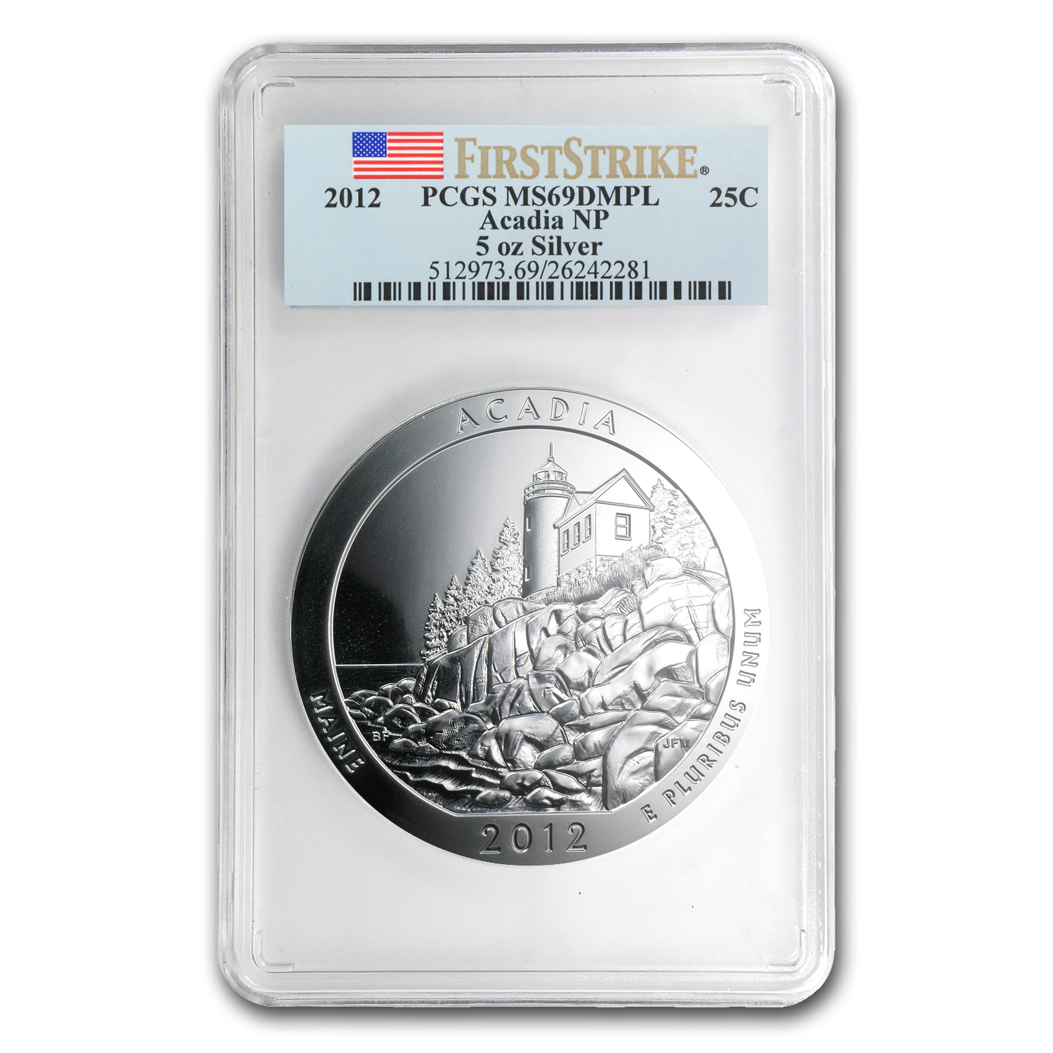 2010 - 2012 5oz Silver ATB 15-Coin Set MS-69 DMPL (FS) PCGS