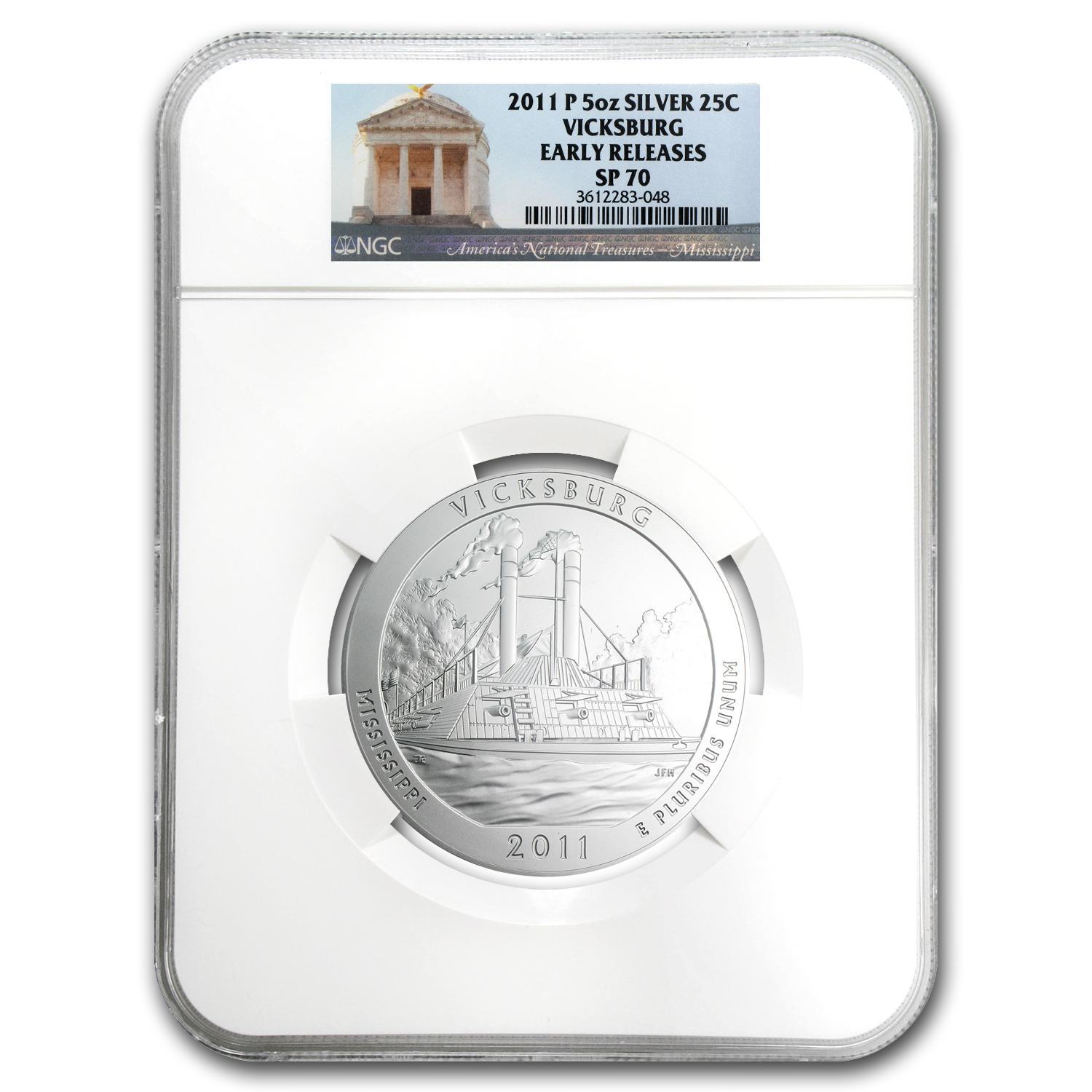 2010 - 2012-P 5 oz Silver ATB 15-Coin Set SP-70 NGC Early Release