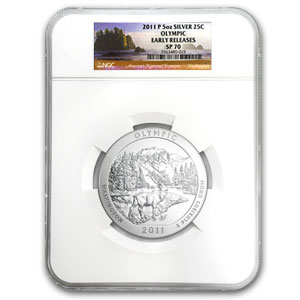 2010-2012-P 15-Coin 5 oz Silver ATB Set SP-70 NGC (ER)