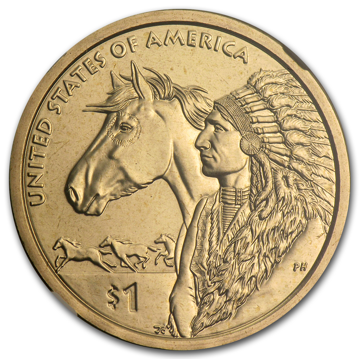 2012-D Native American Sacagawea Dollar MS-67 NGC