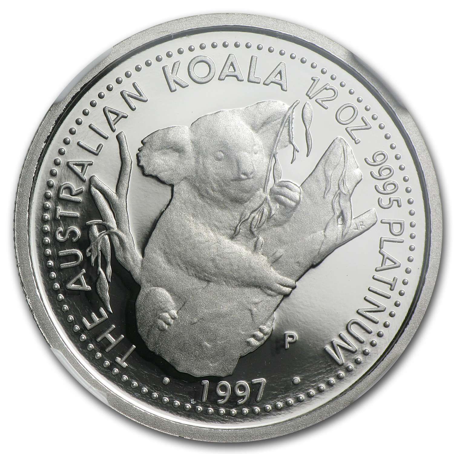 1997 Australia 1/2 oz Proof Platinum Koala PF-70 NGC