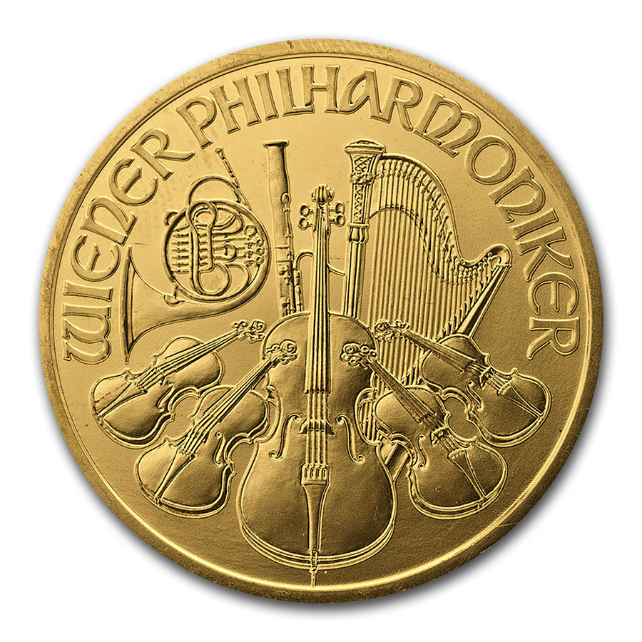 2000 1 oz Gold Austrian Philharmonic