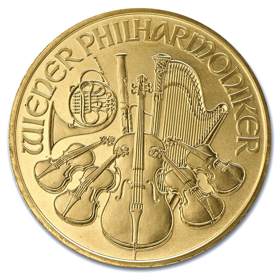 2003 1 oz Gold Austrian Philharmonic