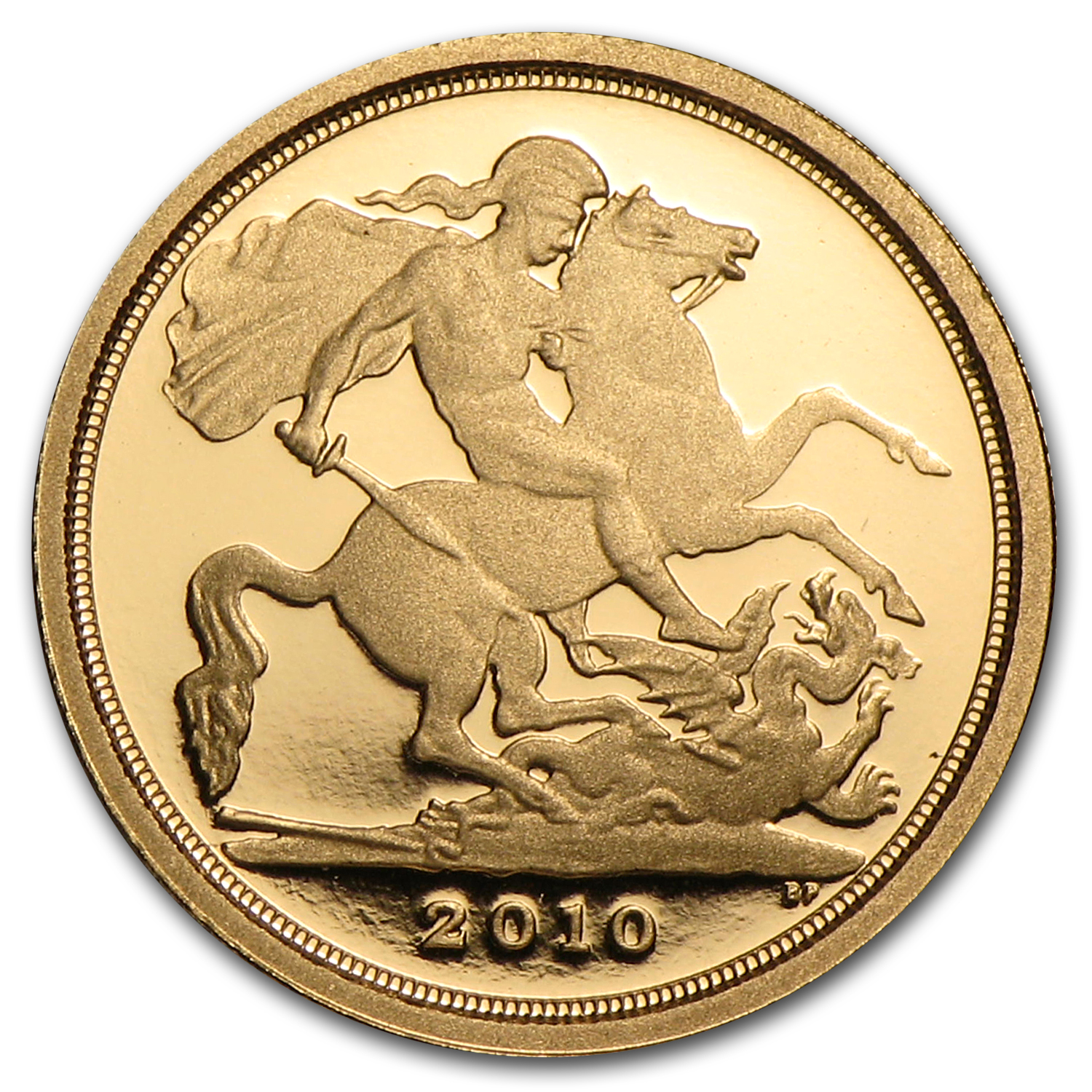 2010 Great Britain Proof Gold 1/4 Sovereign (w/box & COA)