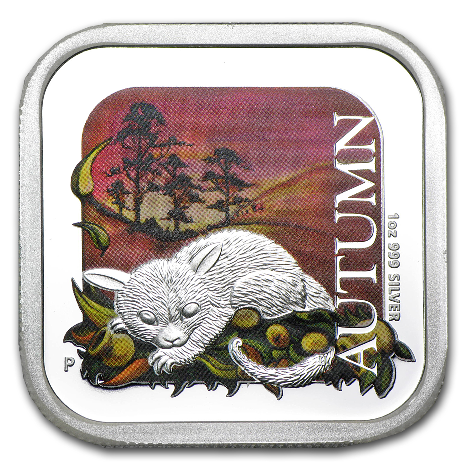 2013 Australia 1 oz Silver Seasons Autumn Proof