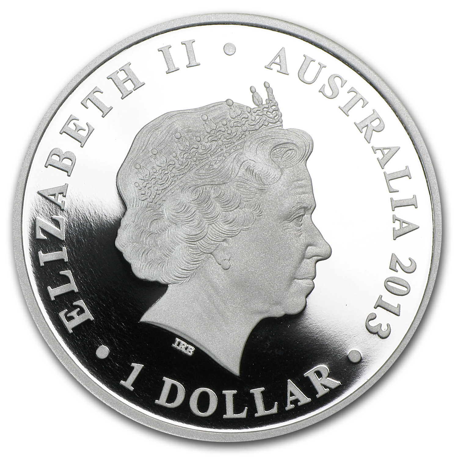 2013 1 oz Silver The Land Down Under Proof (Sydney Opera House)