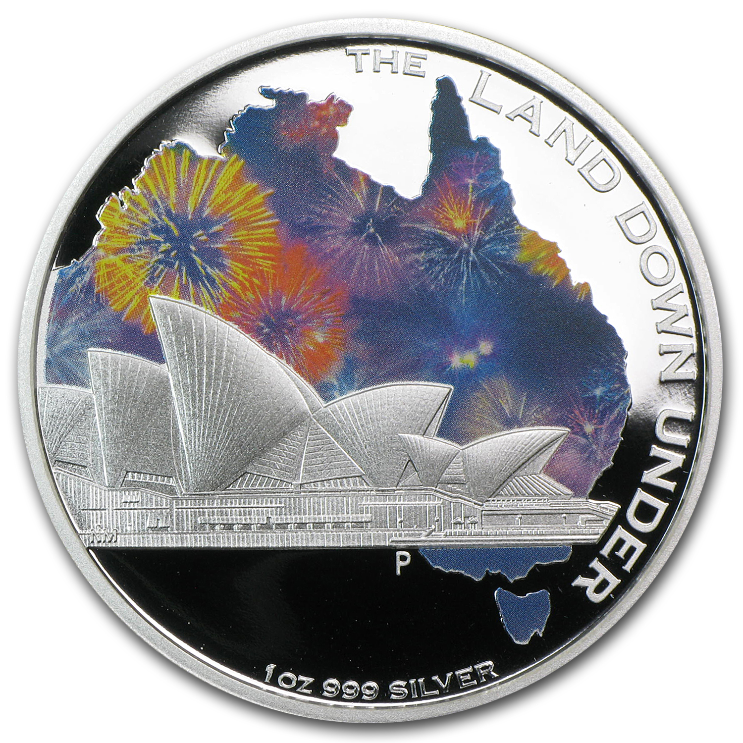 2013 The Land Down Under - Sydney Opera House 1 oz Silver Proof