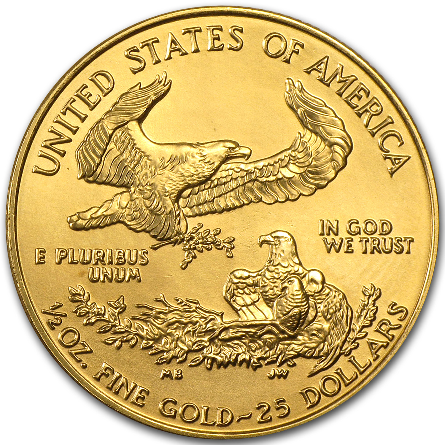 1998 1/2 oz Gold American Eagle (BU)
