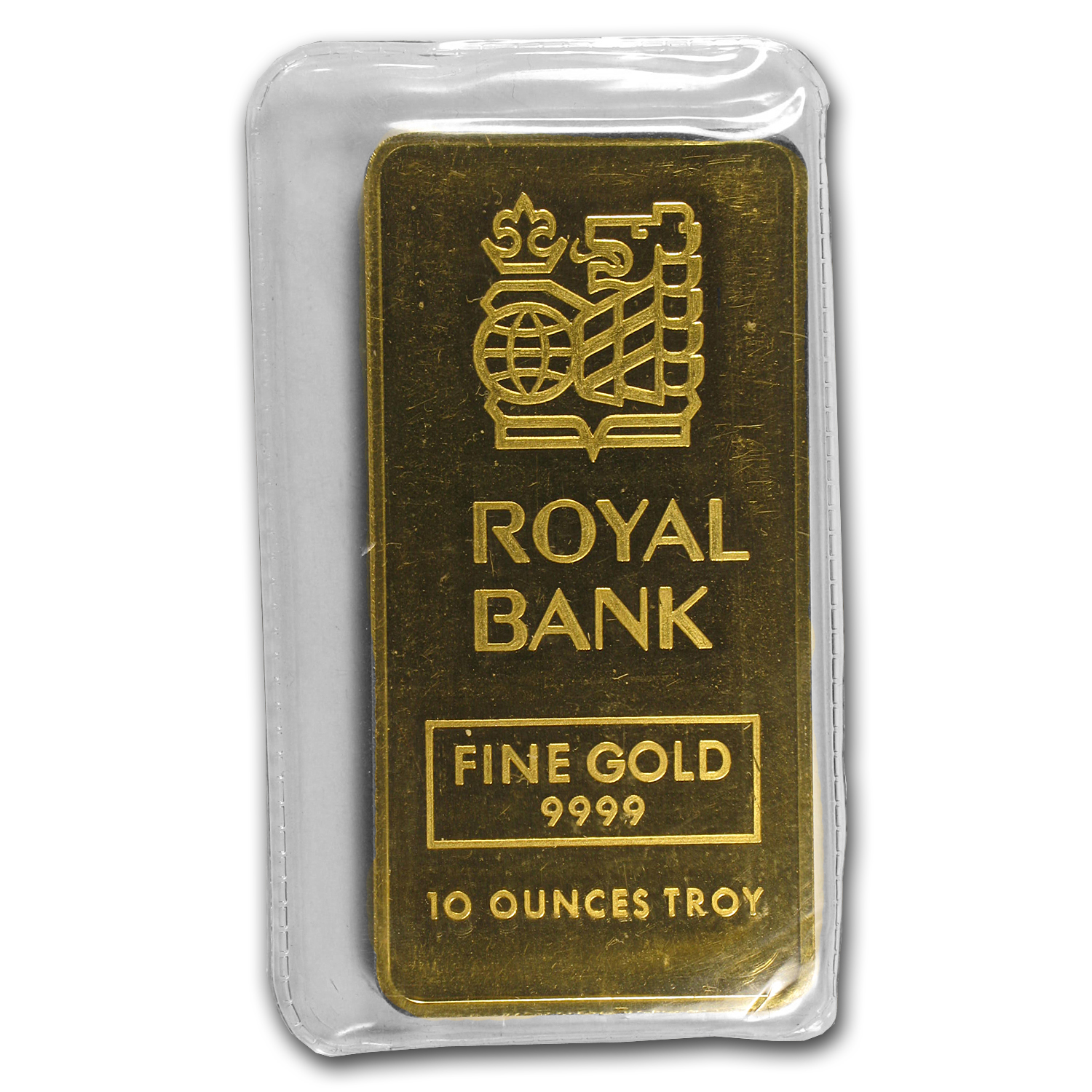 10 oz Gold Bars - Johnson Matthey (Royal Bank)