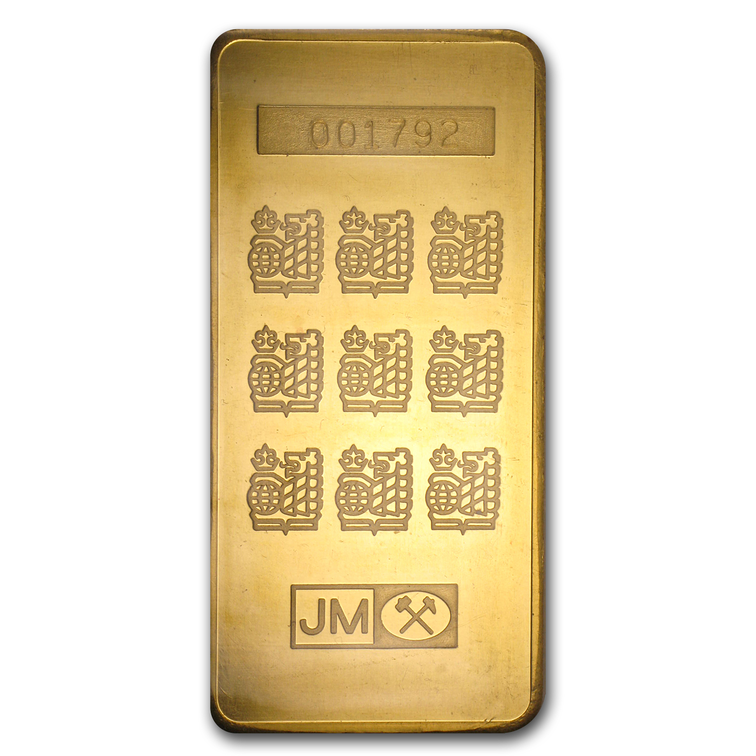 10 oz Gold Bar - Johnson Matthey (Royal Bank of Canada)