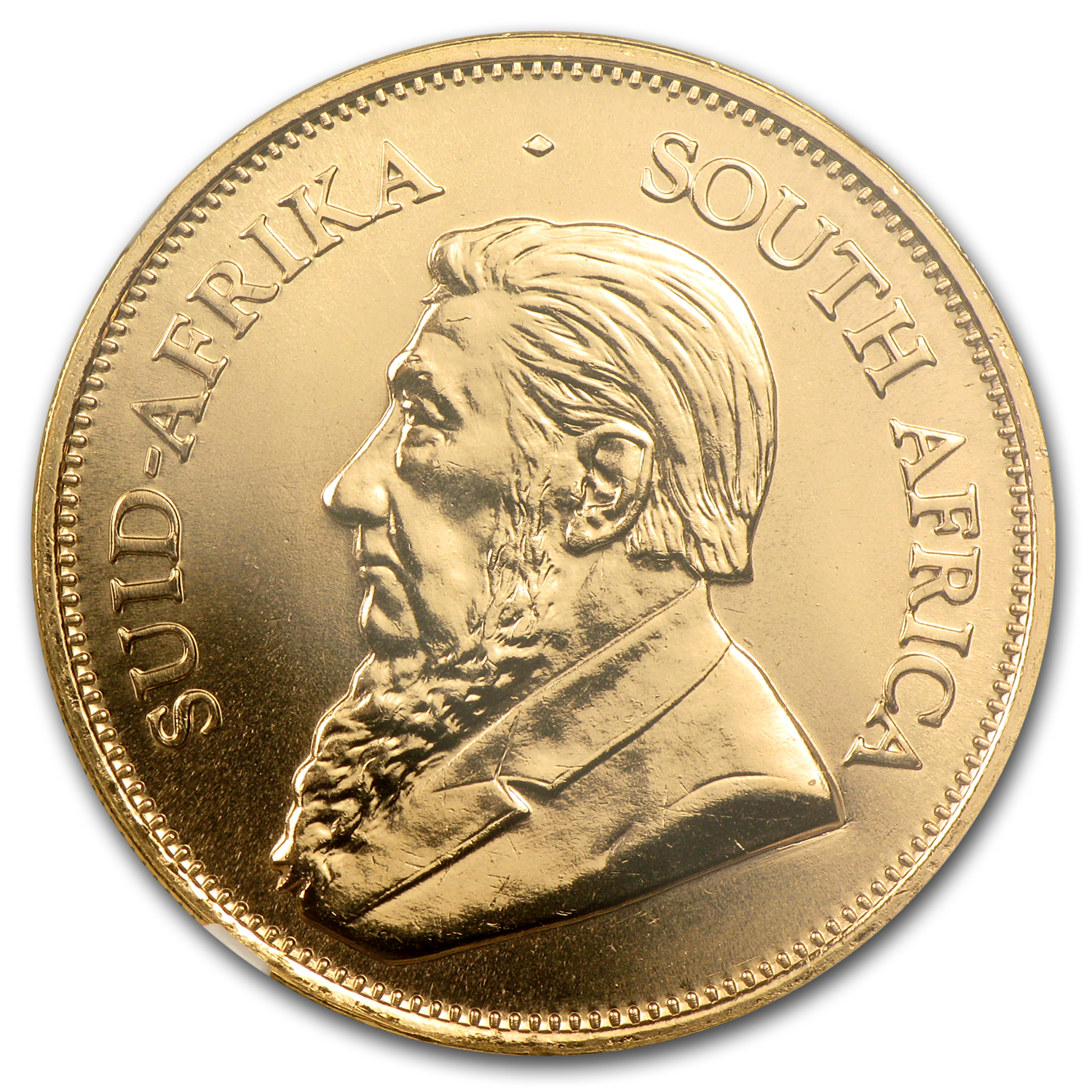 2002 South Africa 1 oz Gold Krugerrand MS-65 NGC