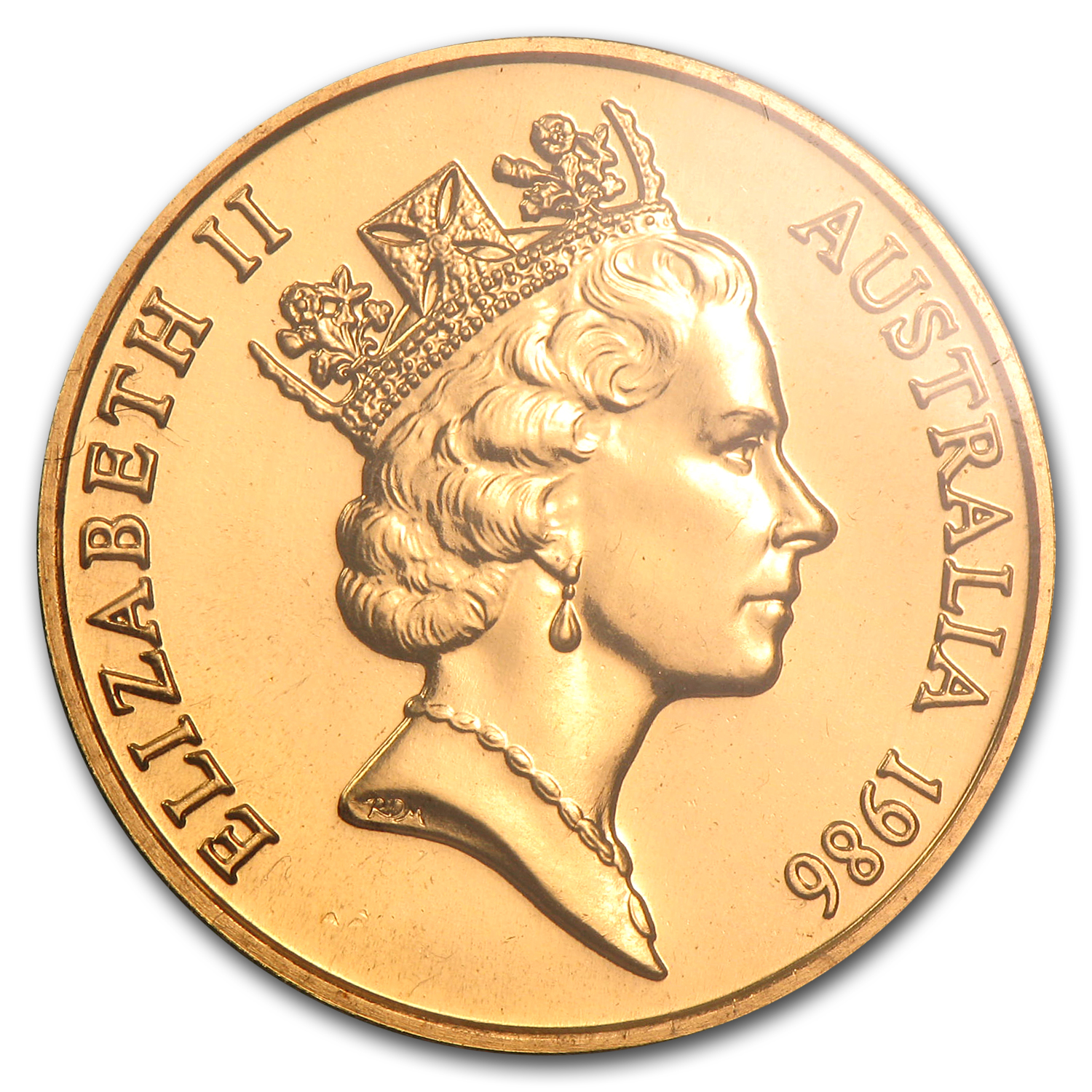 Australia 1986 200 Dollars Gold Uncirculated Coin