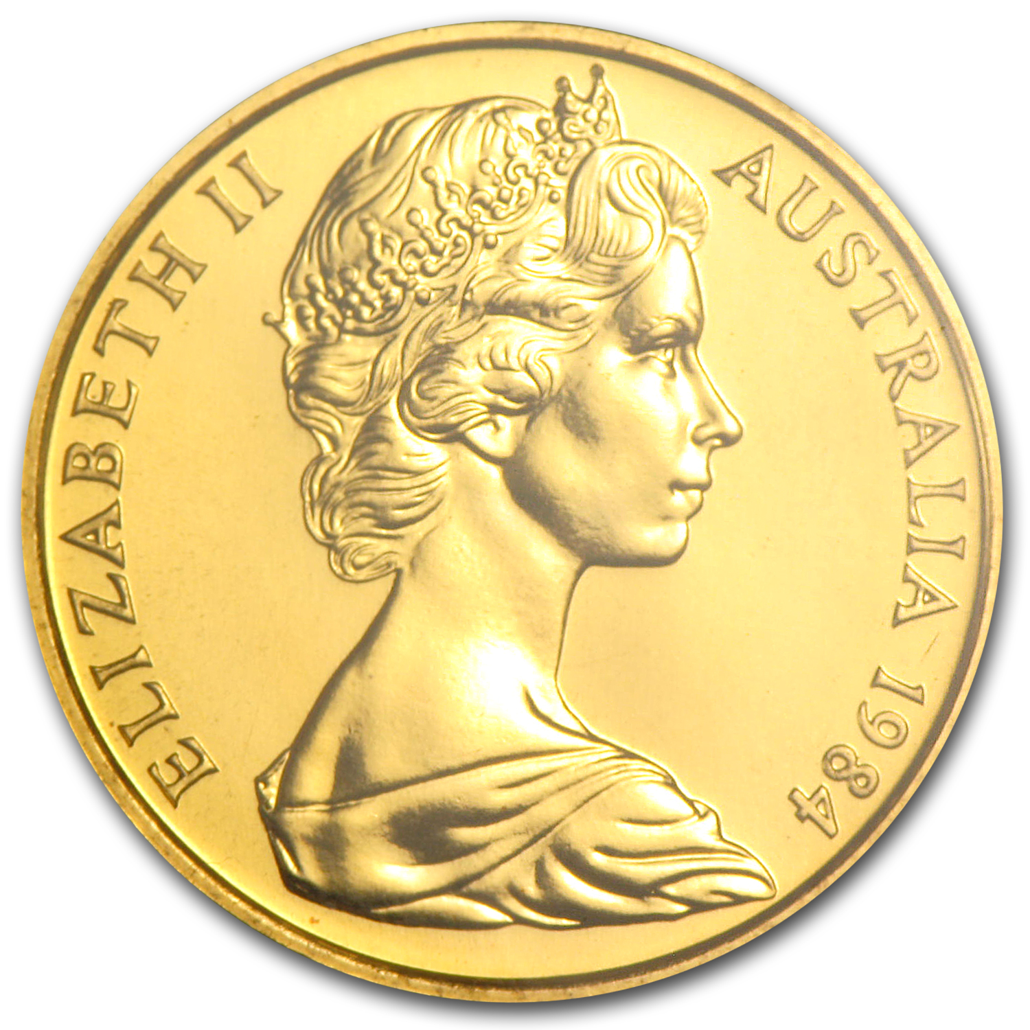 Australia 1984 200 Dollars Gold Uncirculated Coin