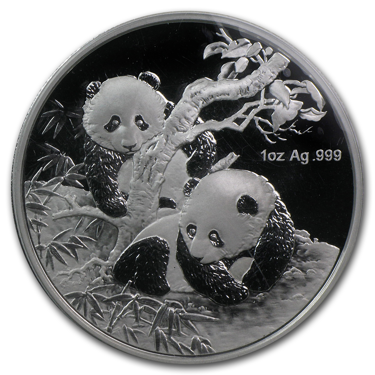 2013 1 oz Silver Chinese Panda (Proof) (Berlin World Money Fair)
