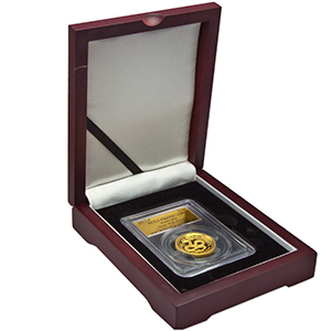 2013 1 oz Gold Snake PR-70 PCGS (Ultra High Relief)