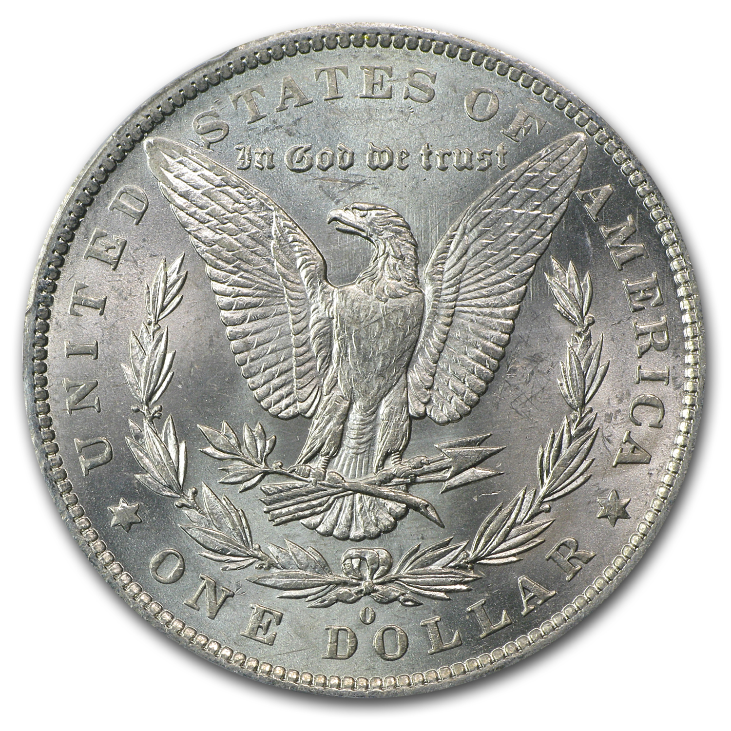 1883-O Morgan Dollar MS-62 PCGS (VAM-22A, Partial E on Rev)
