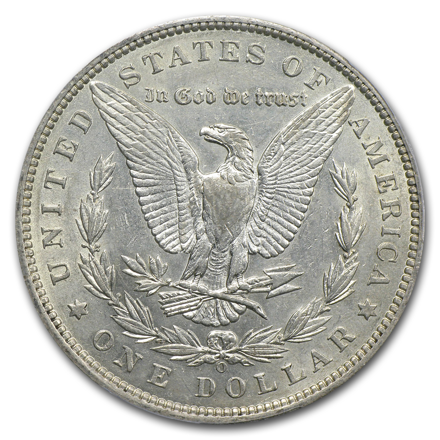 1888-O Morgan Silver Dollar AU-53 PCGS (VAM-7A, Shooting Star)