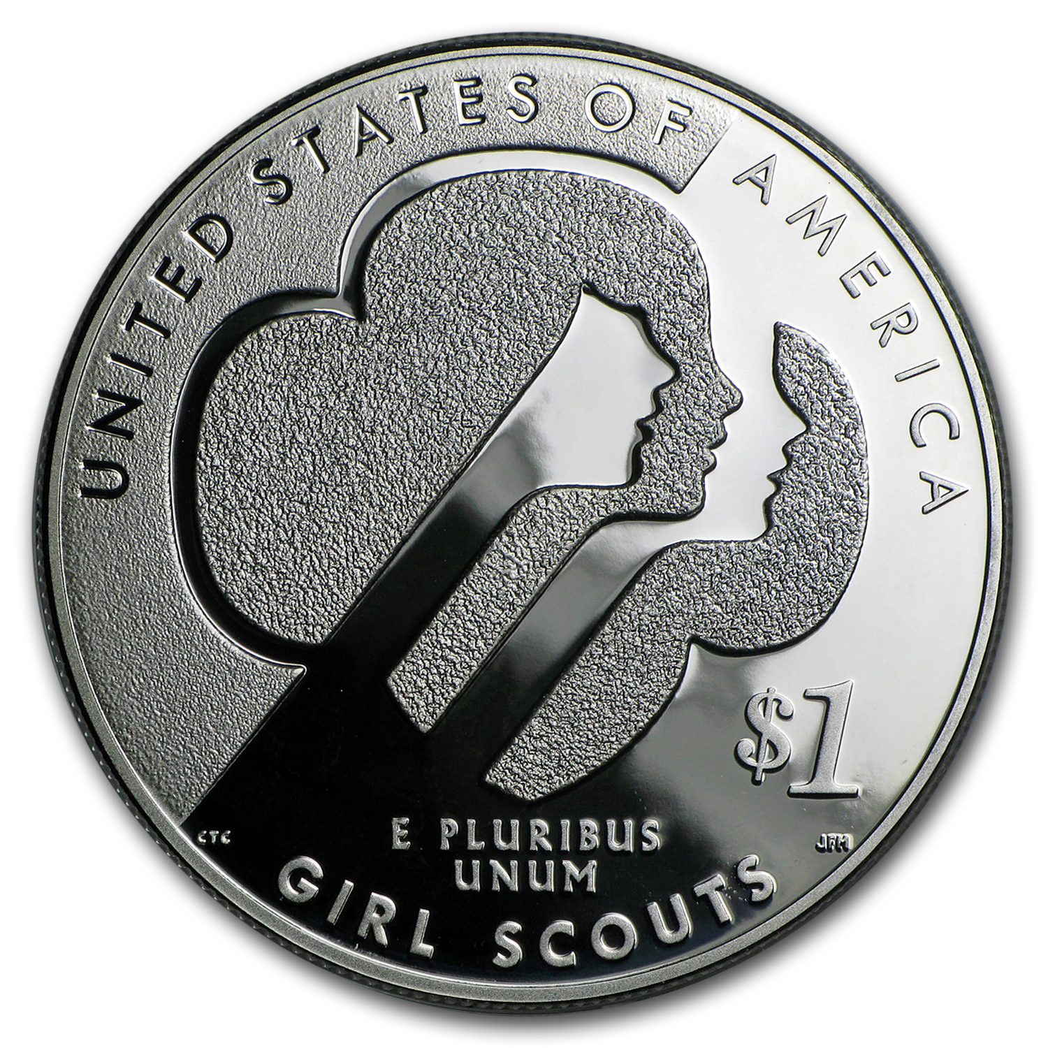 2013-W Girl Scouts $1 Silver Commemorative Proof