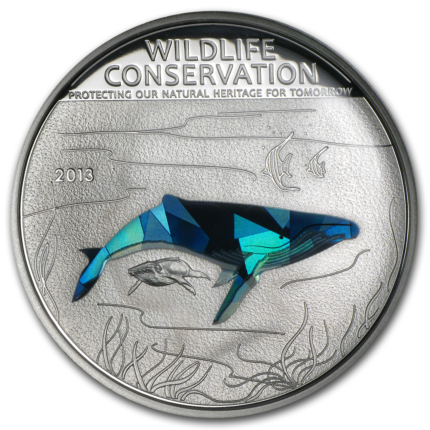 2013 Cook Islands Wildlife Conservation Humpback Whale Prism