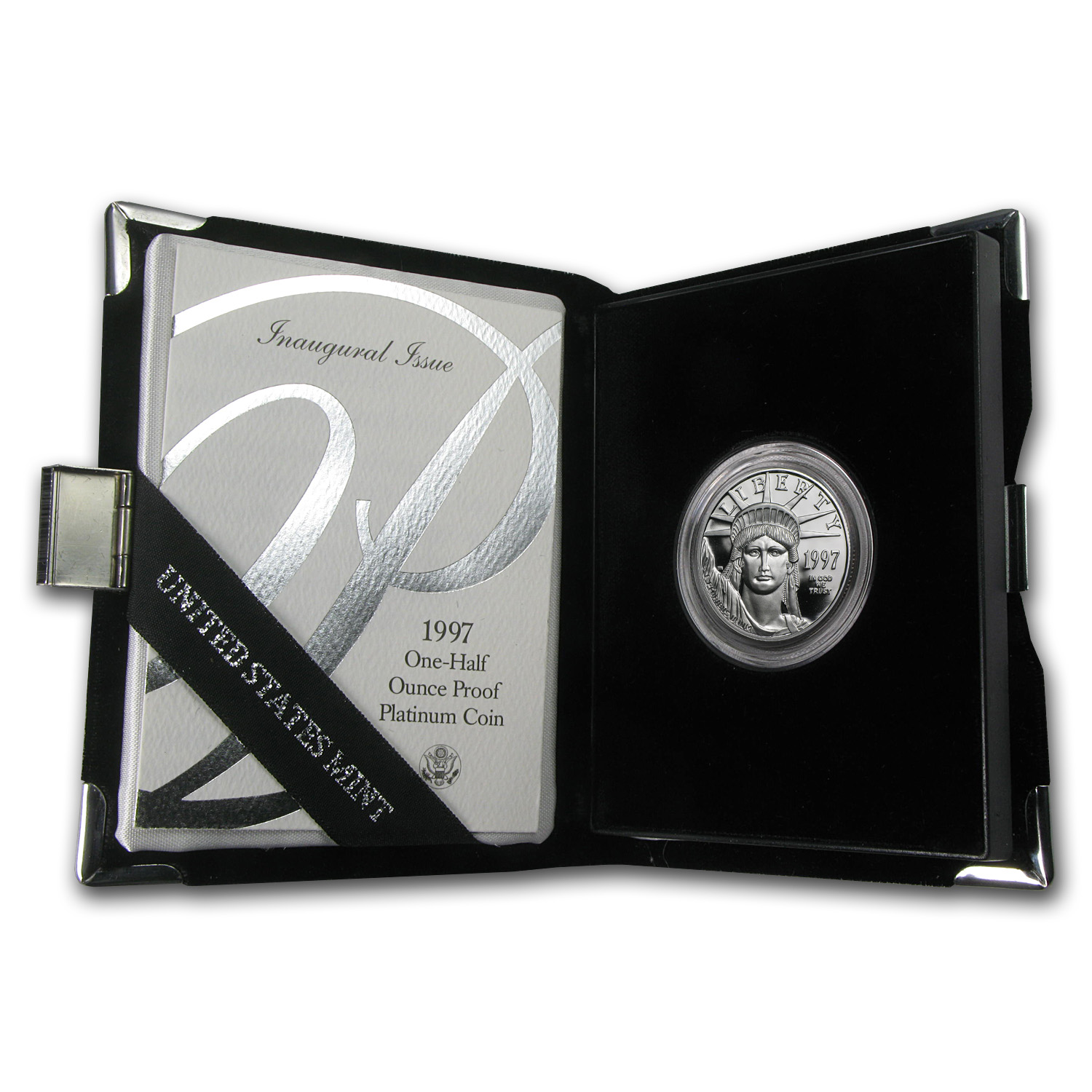 1997-W 1/2 oz Proof Platinum American Eagle (w/Box & CoA)