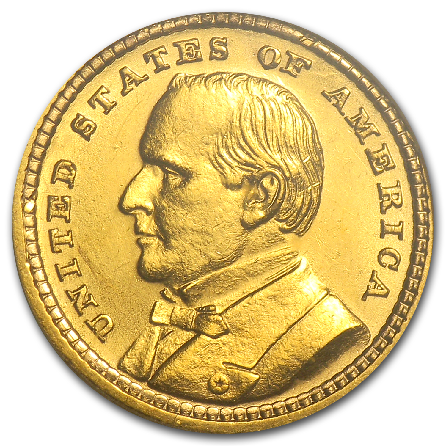 1903 Gold $1.00 Louisiana Purchase McKinley AU-53 PCGS