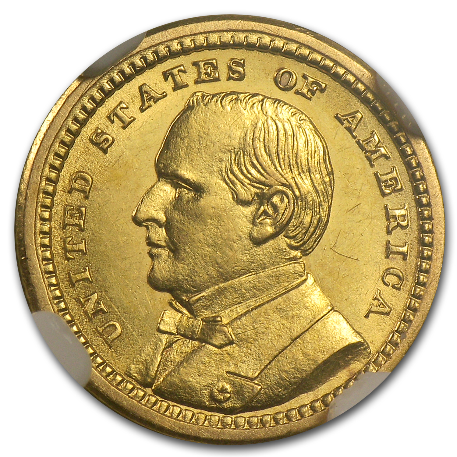 1903 Gold $1.00 Louisiana Purchase McKinley AU-58 NGC