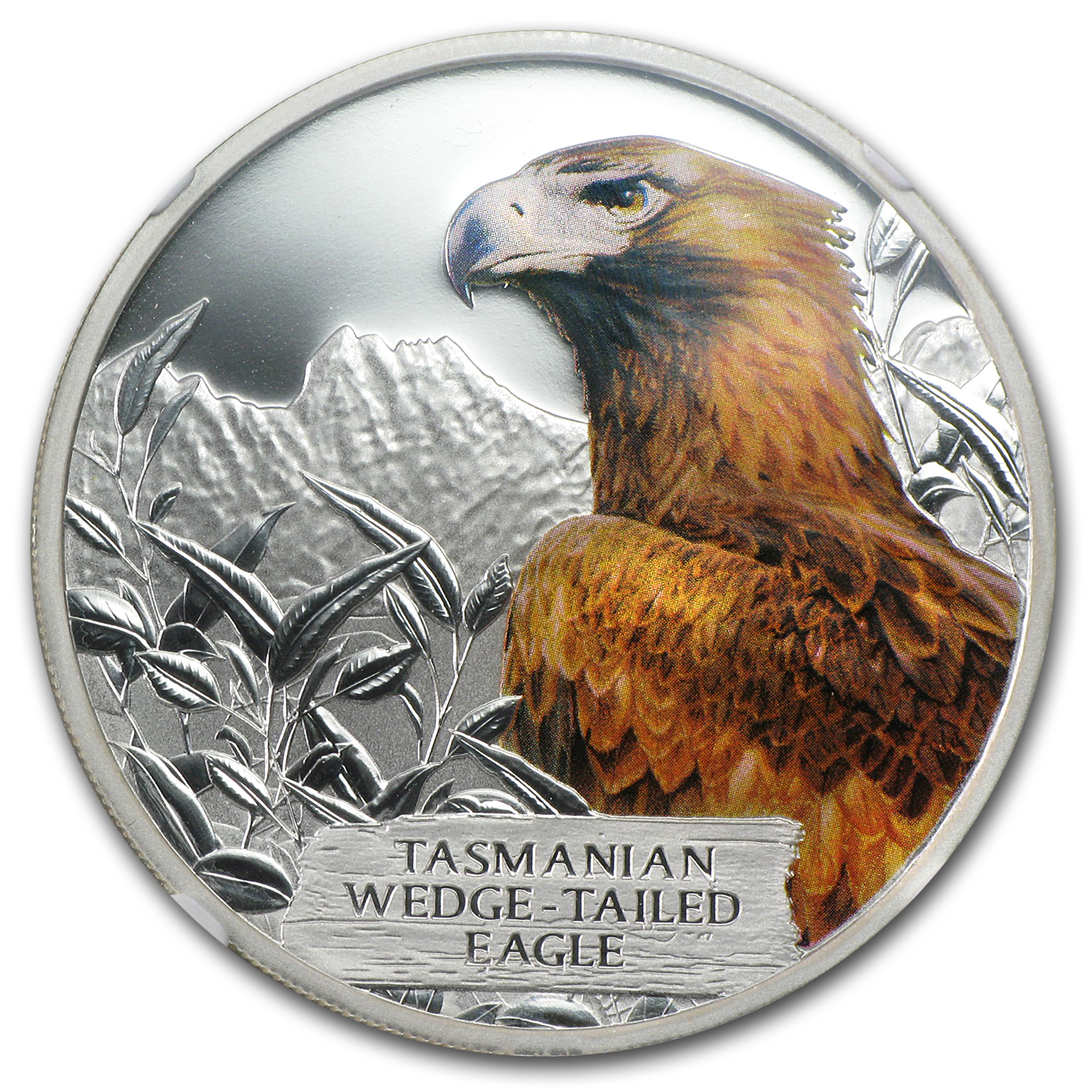 2012 1 oz Silver Tuvalu Wedge-Tailed Eagle PF-69 NGC