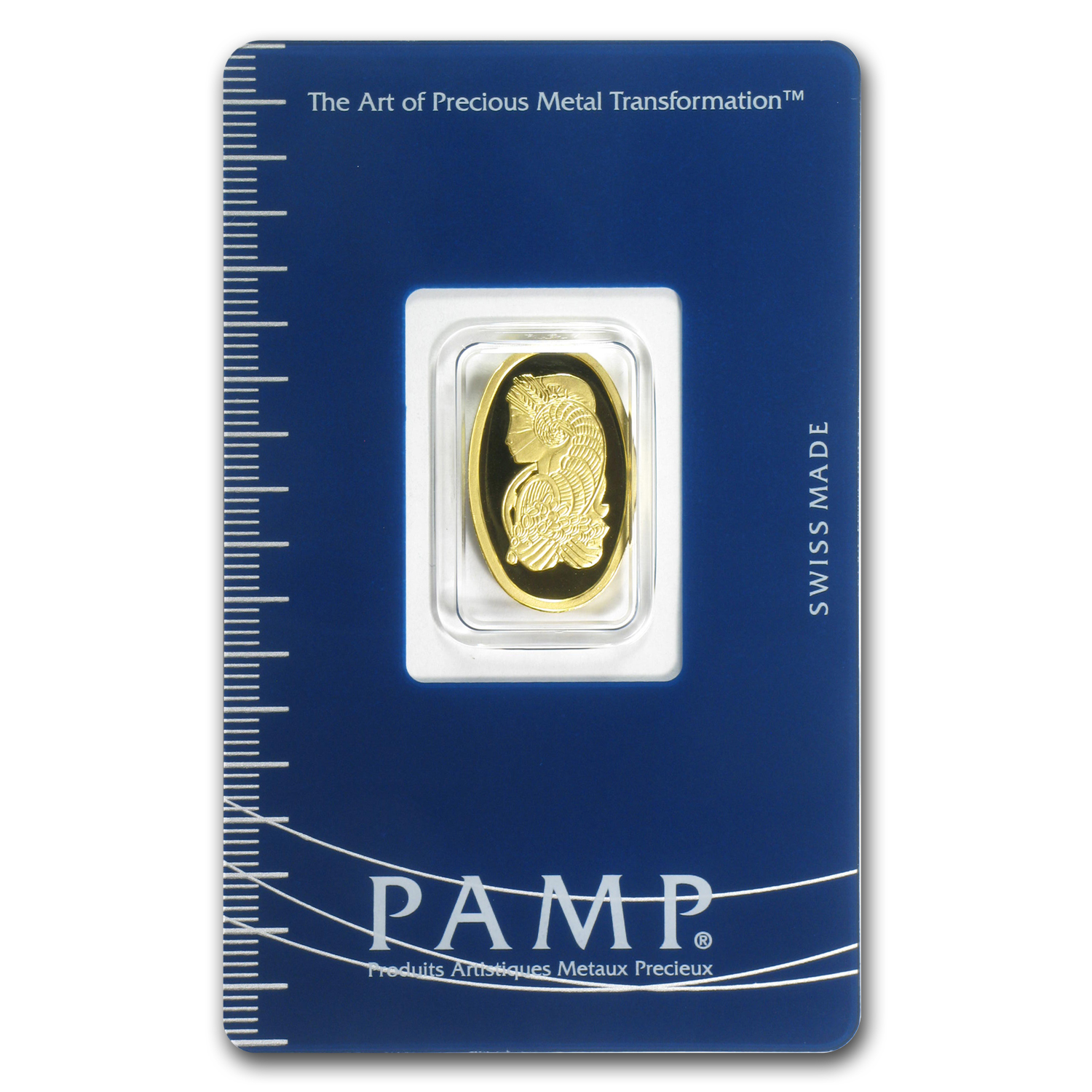 5 gram Gold Oval - PAMP Suisse Fortuna
