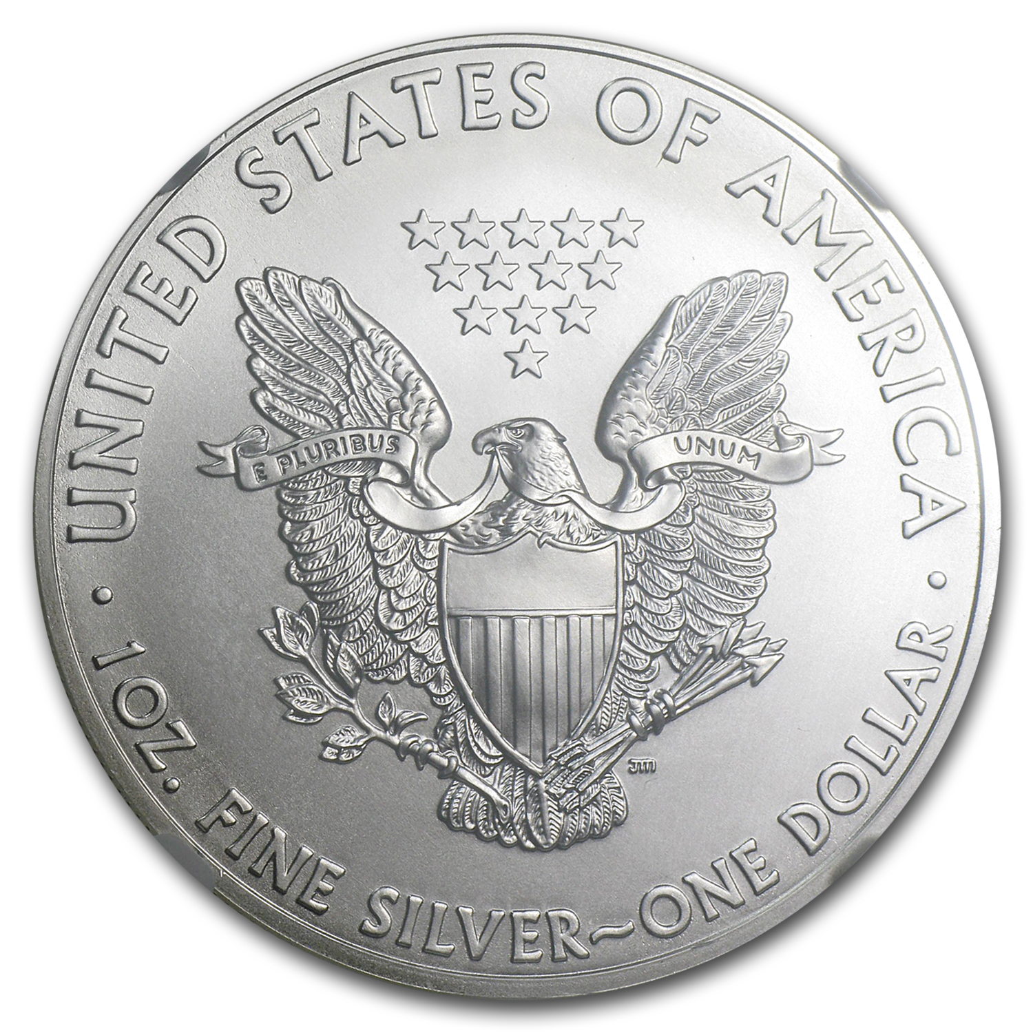 2012 Silver American Eagle Ms 70 Ngc Silver Eagles West