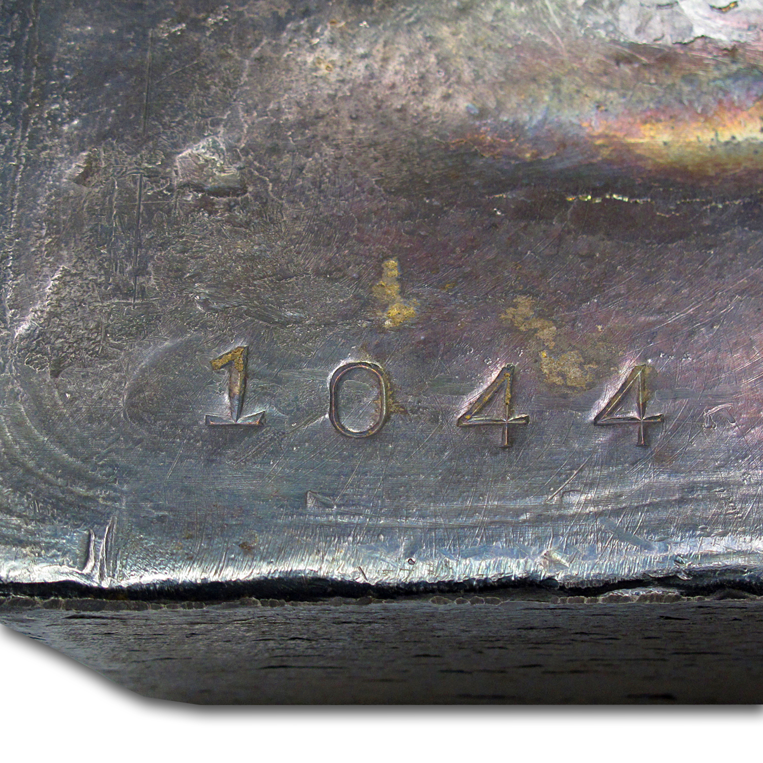 1044.7 oz Silver Bar - Pease & Curren