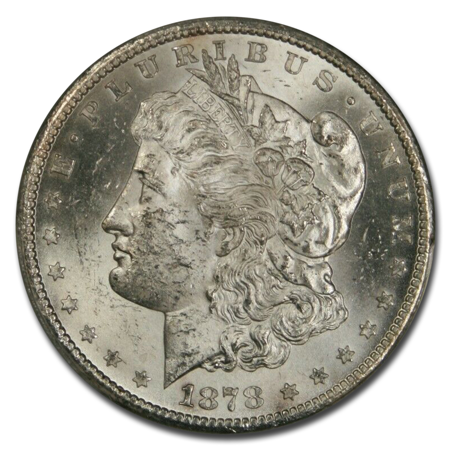 1878-CC Morgan Dollar - MS-62 PCGS
