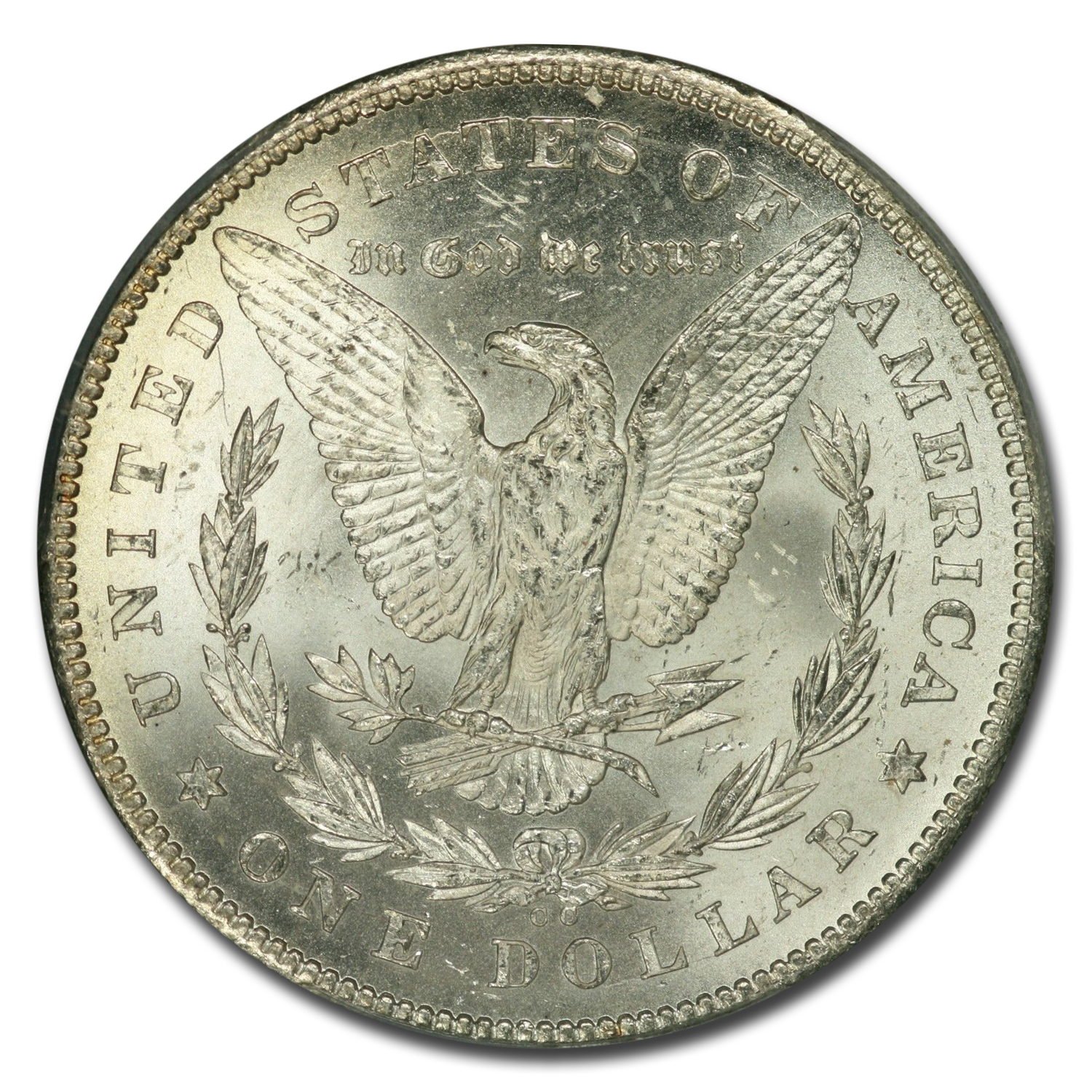 1878-CC Morgan Dollar MS-62 PCGS