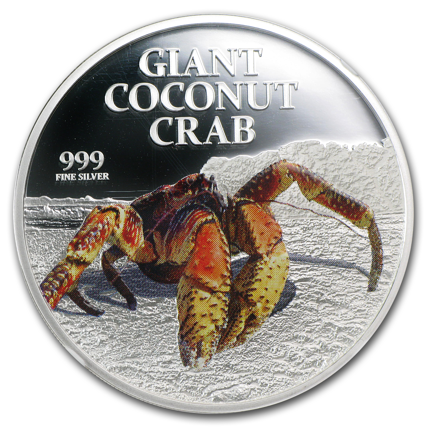 2013 Niue 1 oz Silver $2 Giant Coconut Crab PF-70 NGC