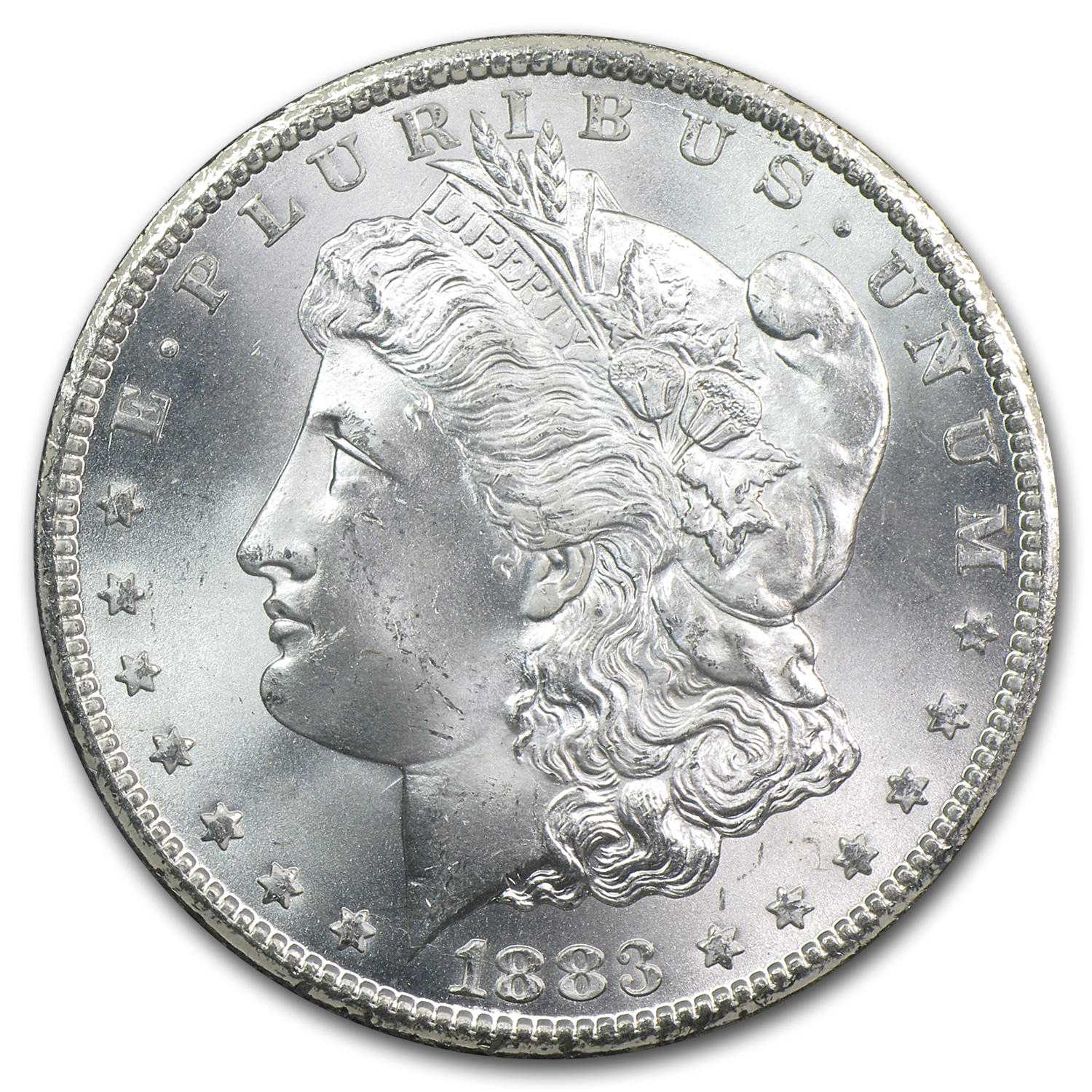 1883-CC Morgan Dollar MS-66 NGC - GSA Certified