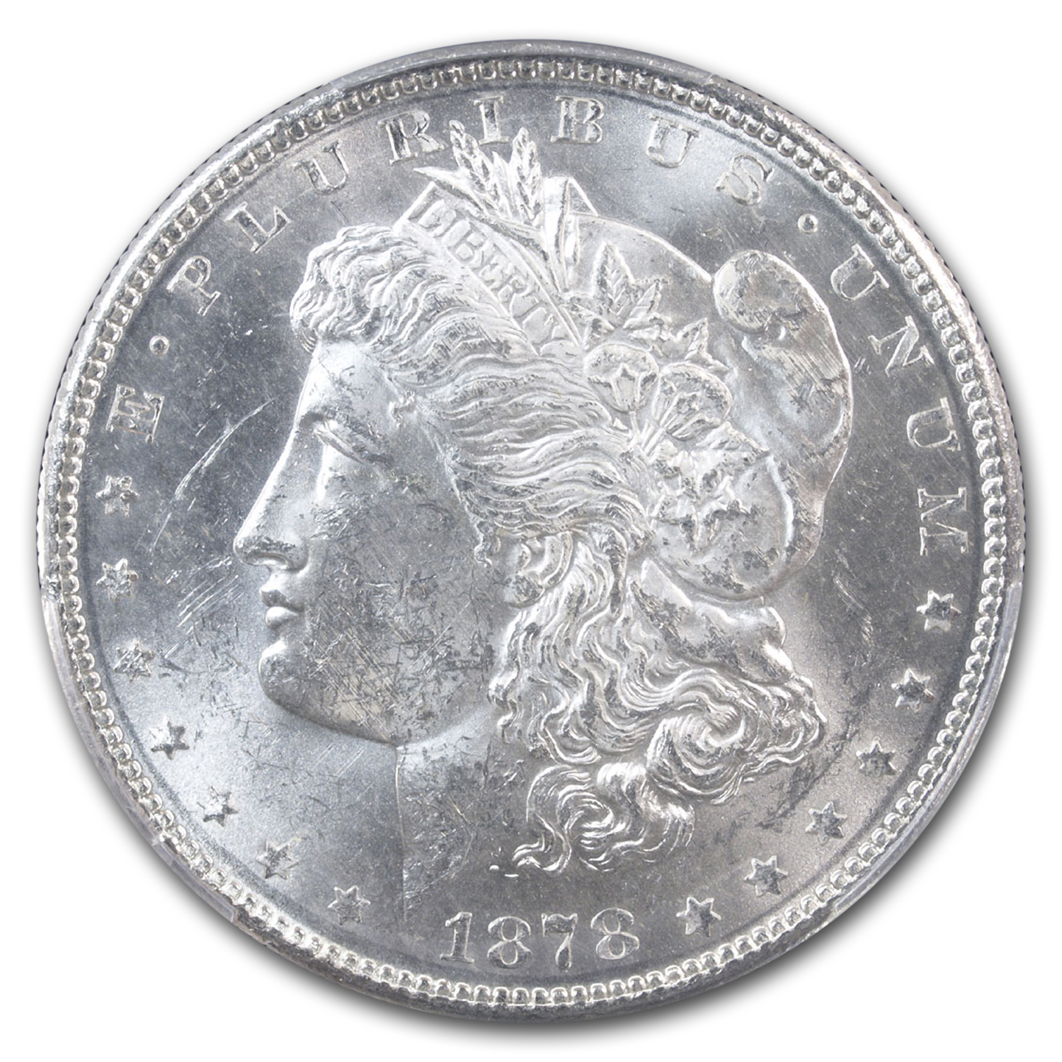 1878-S Morgan Dollar - MS-62 PCGS