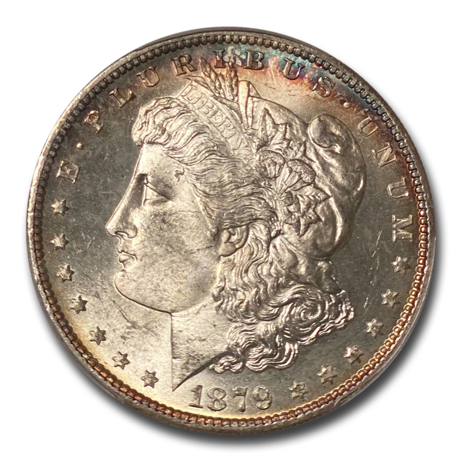 1879-S Morgan Dollar - MS-66 PCGS