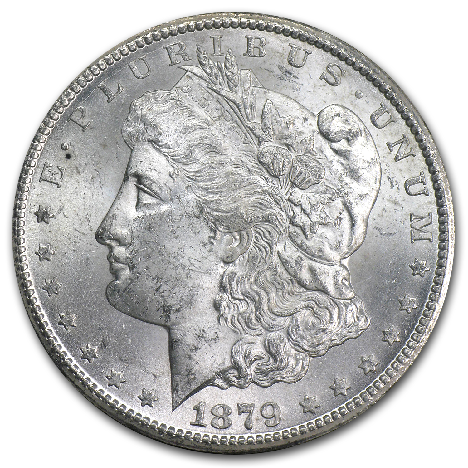 1879-CC Morgan Dollar Brilliant Uncirculated - GSA Holder