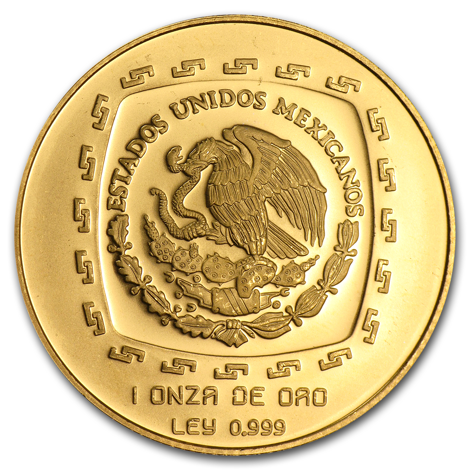 1998 Mexico 100 Pesos Gold Sacerdote Brilliant Uncirculated