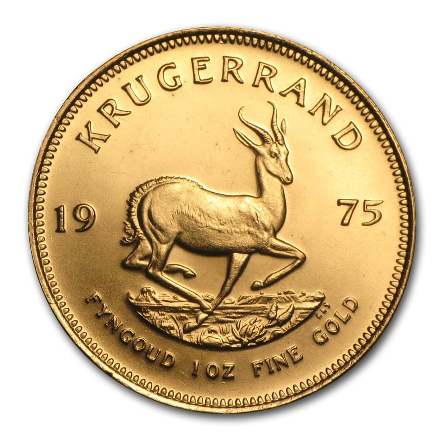 1975 South Africa 1 oz Gold Krugerrand