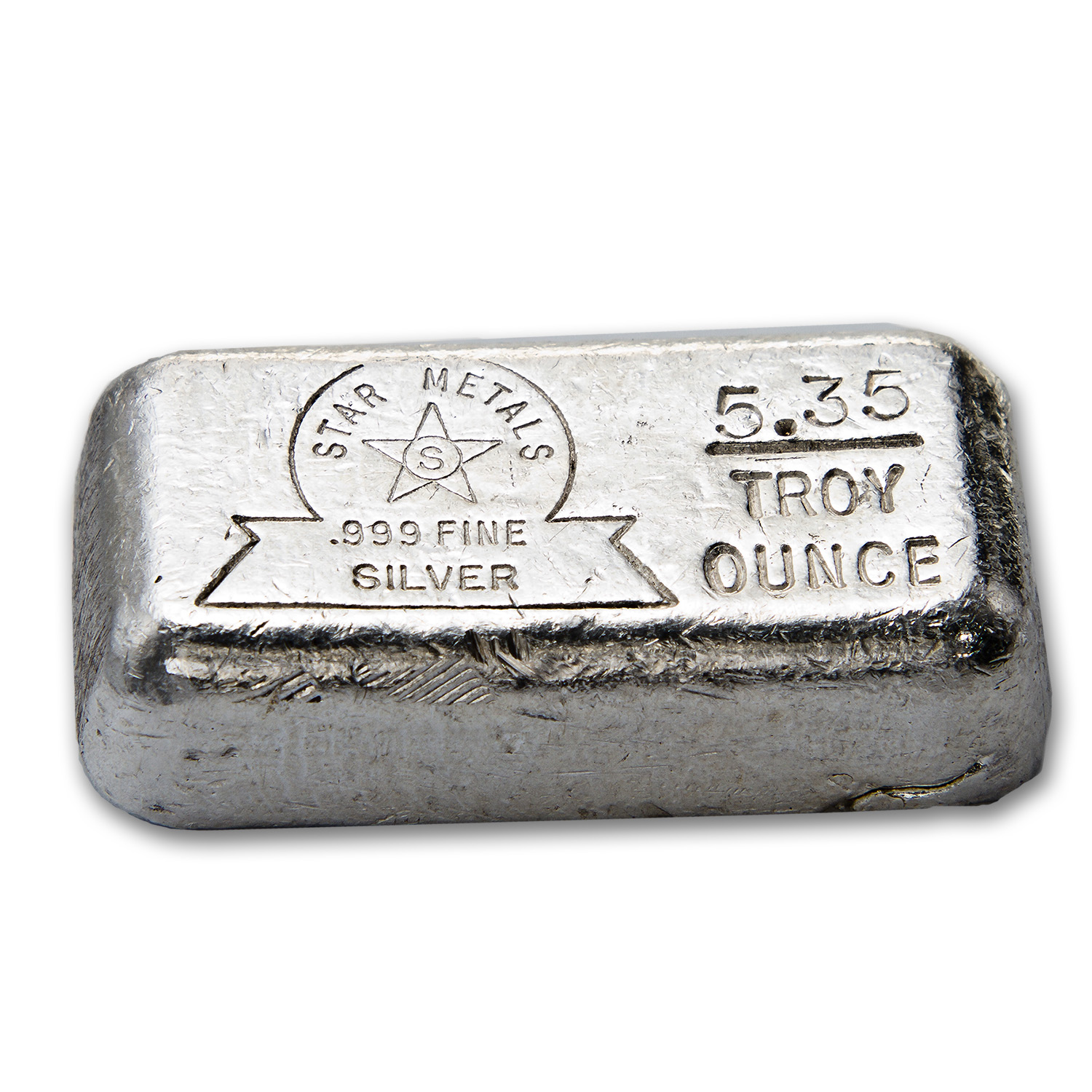 5.35 oz Silver Bar - Star Metals