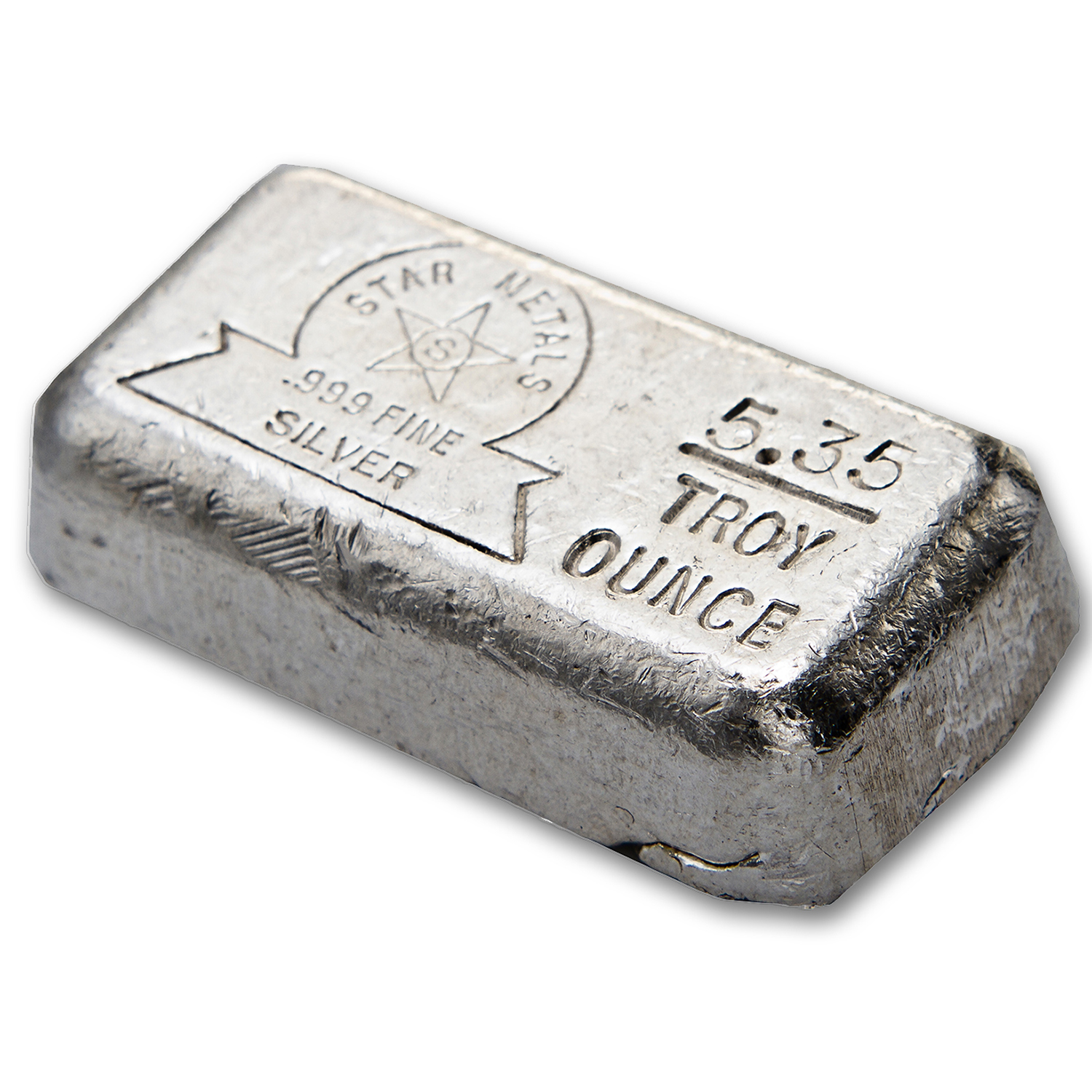 5.35 oz Silver Bars - Star Metals