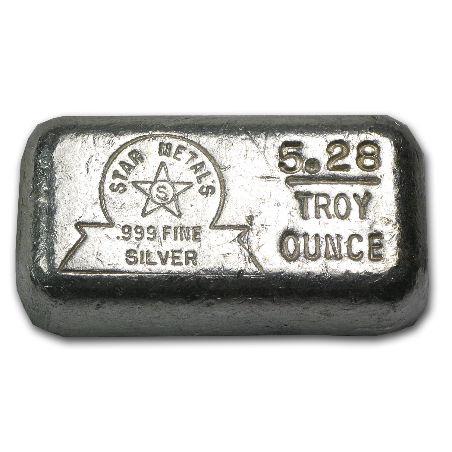 5.28 oz Silver Bars - Star Metals