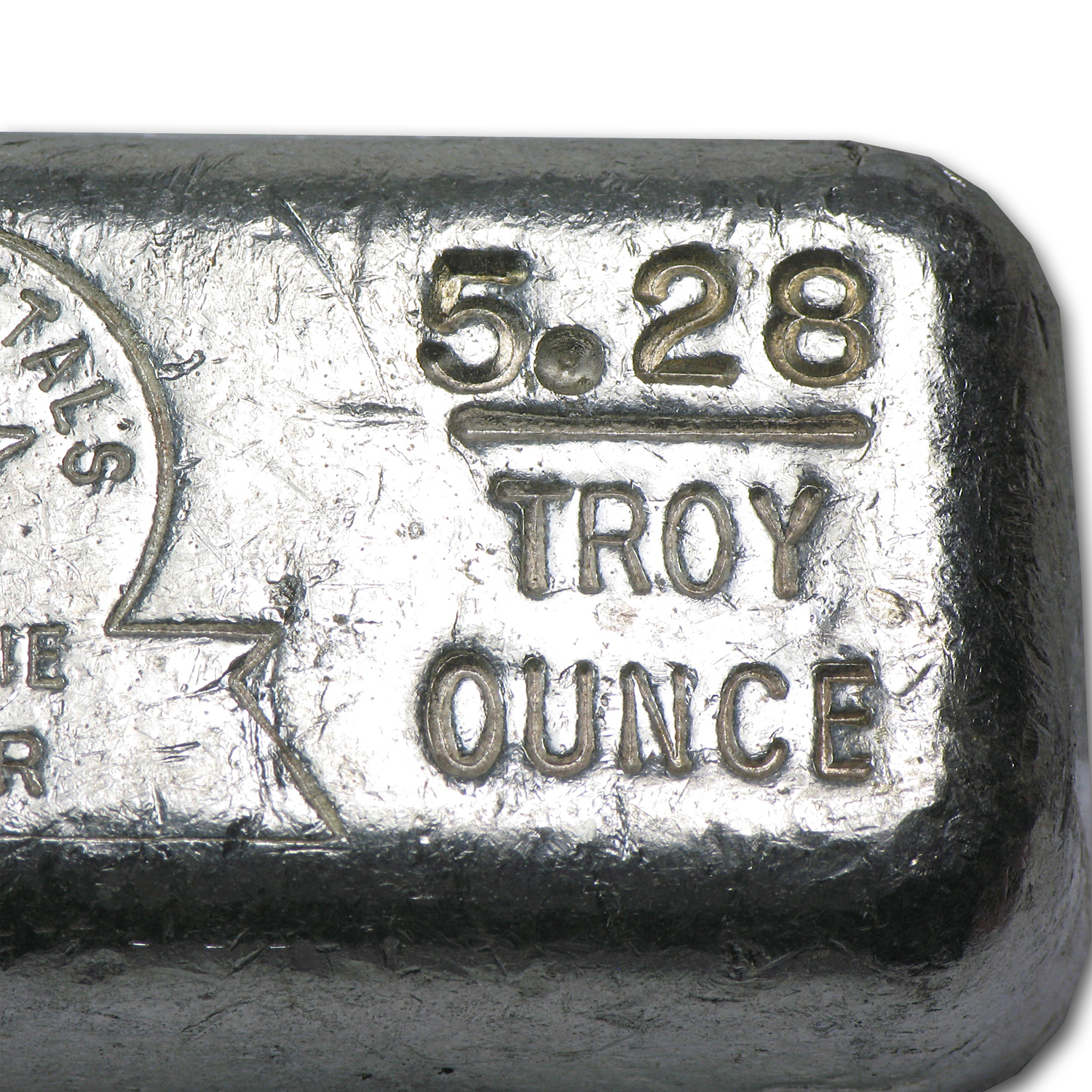 5.28 oz Silver Bar - Star Metals
