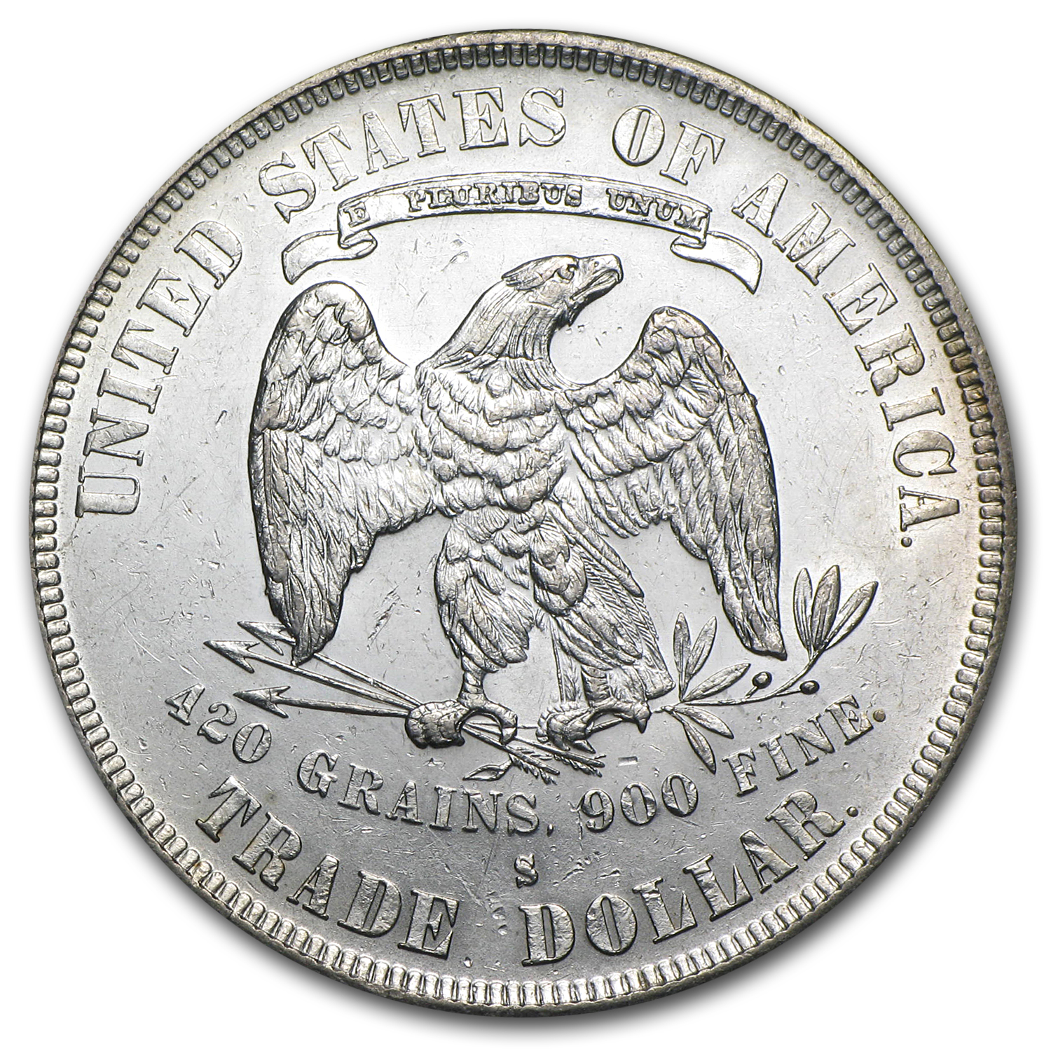 1873-1878 Trade Dollar - Brilliant Uncirculated