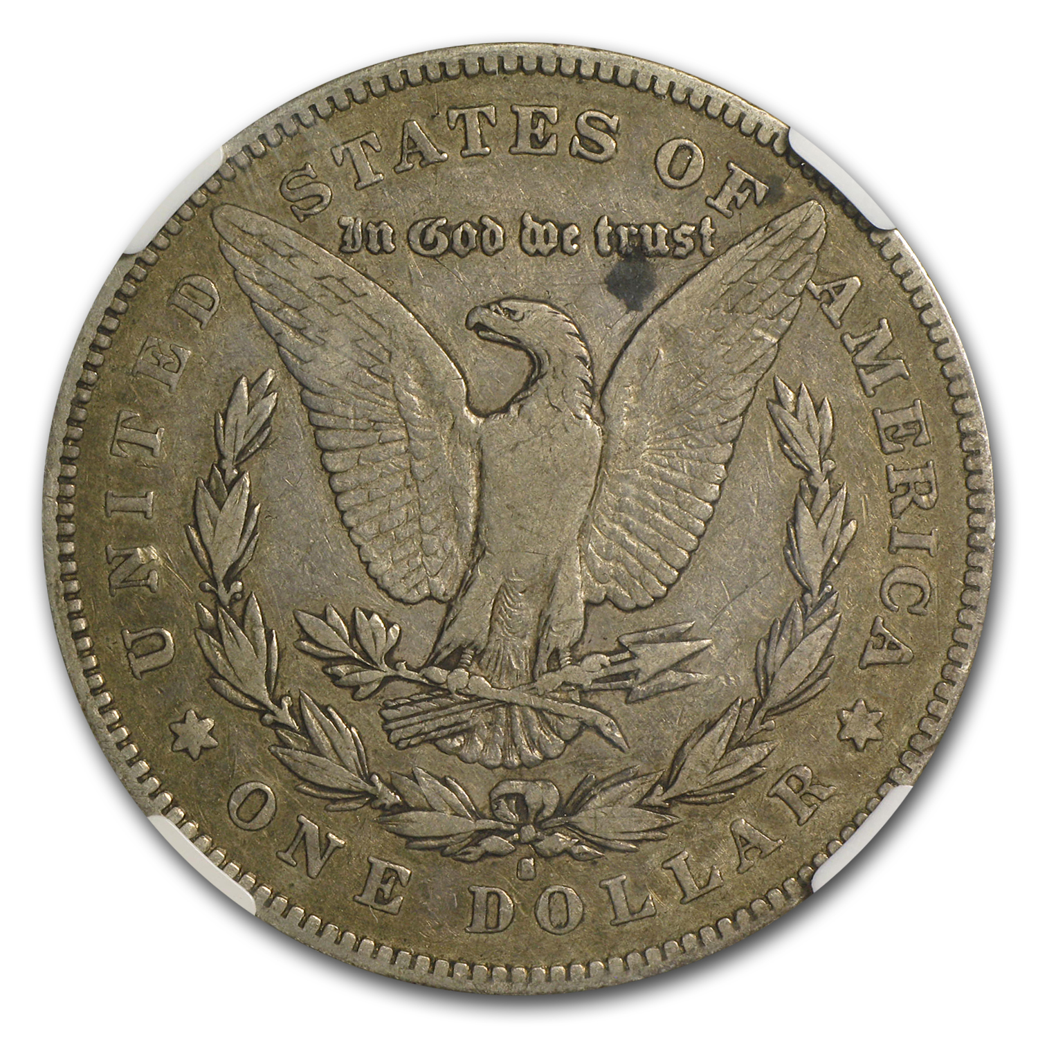 1878-S Morgan Dollar VF-20 NGC (VAM-26, Long Nock Rev, Top-100)